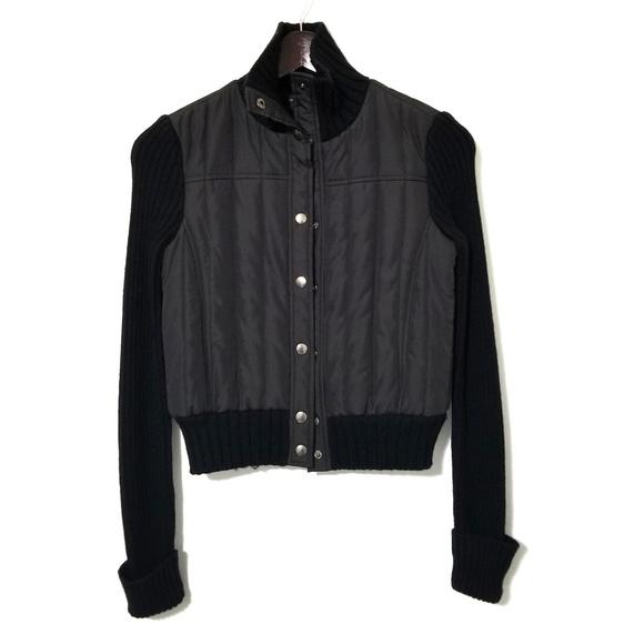 BCBGMaxAzria Jackets & Blazers - BCBGMAXAZRIA Puffer & Wool Jacket